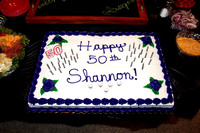 Shannon turns 50